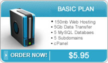 PJR Sales and Service Basic Web Hosting Plan