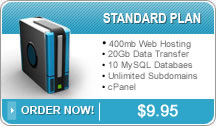 PJR Sales and Service Standard Web Hosting Plan
